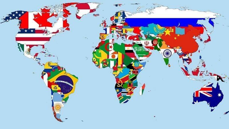 cuantos países hay en el mundo