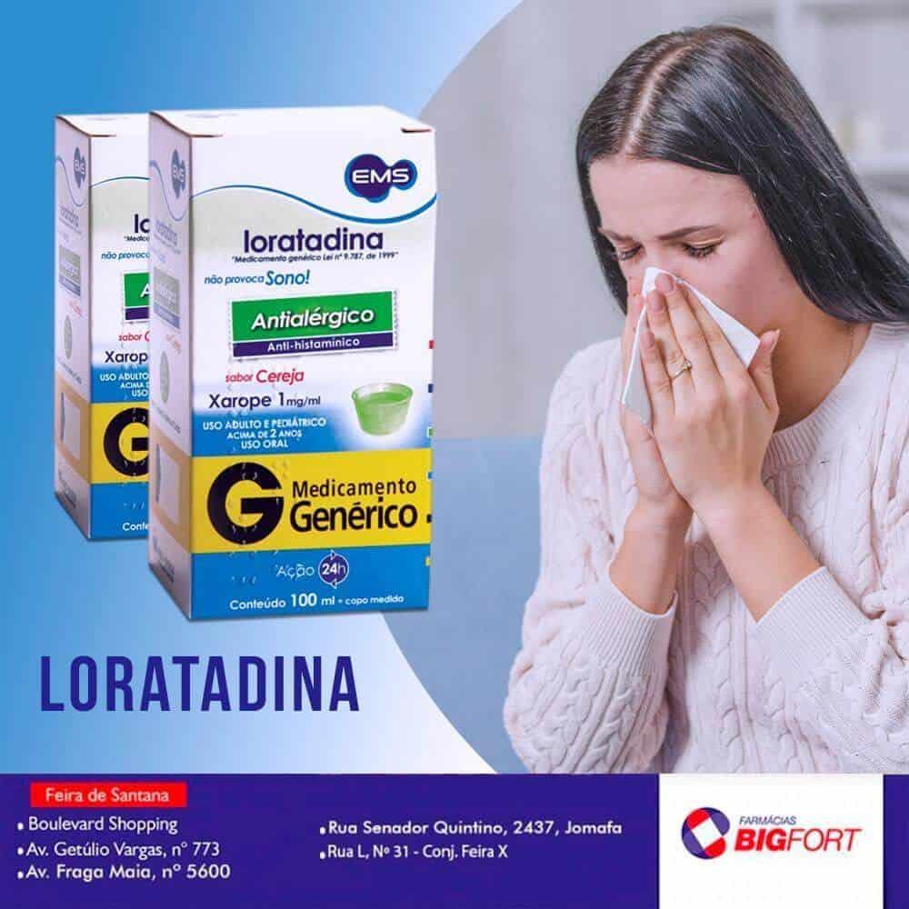 loratadina para que enfermedades o condiciones se prescribe
