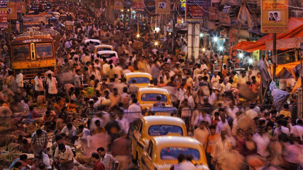 los 10 paises mas poblados del mundo - india