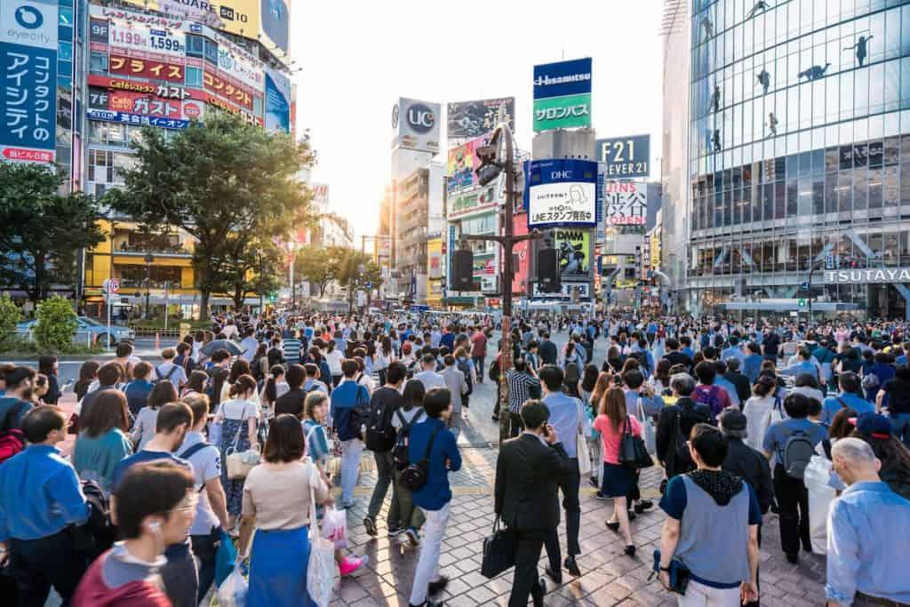 los 10 paises mas poblados del mundo - japon