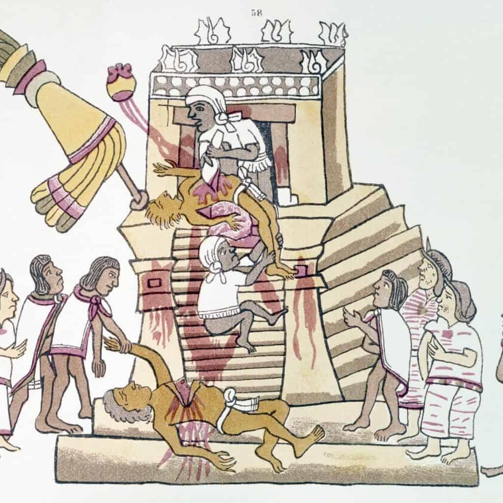 religion de los mexicas dioses