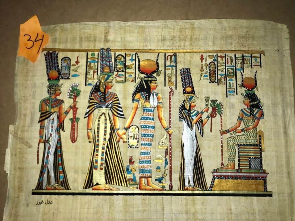 como sa fabrica el papel papiro