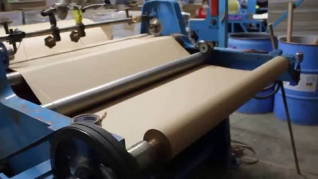 como sa fabrica el papel paso a paso rollo papel
