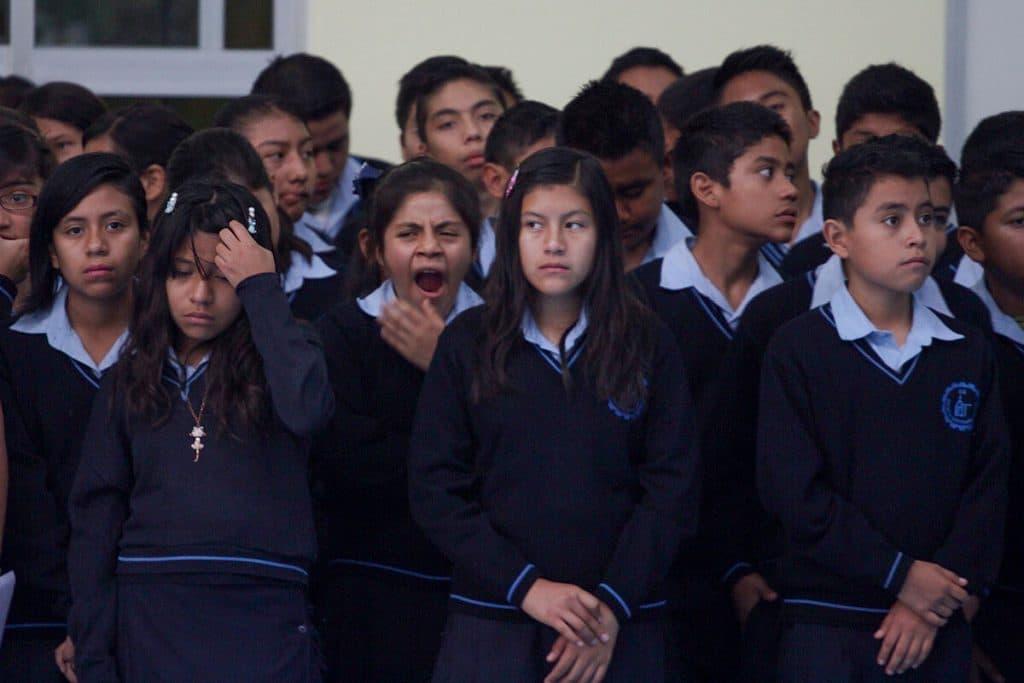 problemas sociales en mexico mala educacion