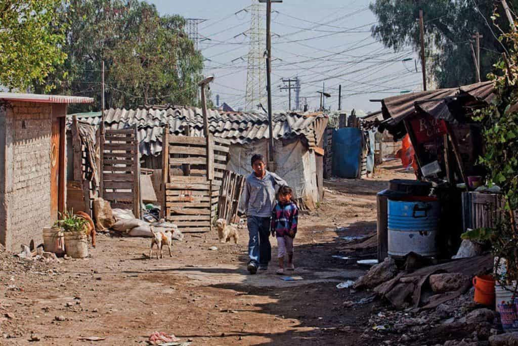 problemas sociales en mexico pobreza