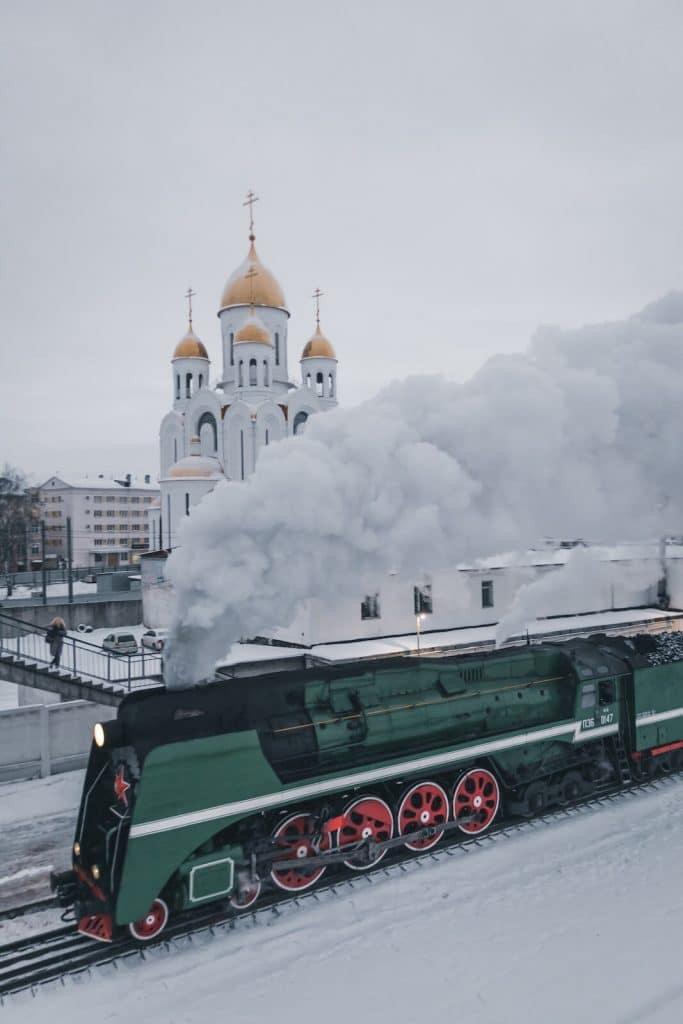 como funcionan las maquinas de vapor locomotora