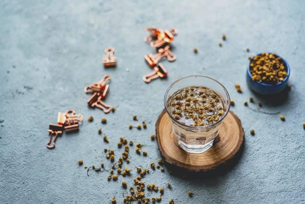 beneficios saludables del te de manzanilla